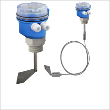 Point level switch for granular solids