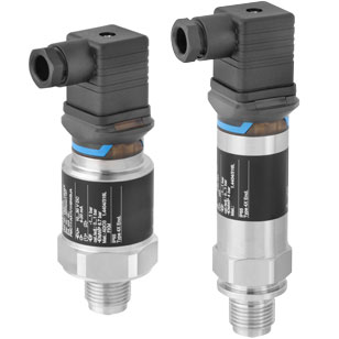 Pressure sensor for absolute and gauge pressures up to 400 bar