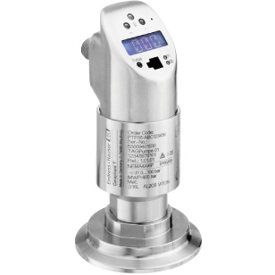 Hygienic pressure switch for absolute and gauge pressures