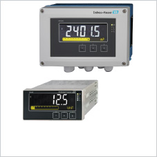 process meters with display and control unit