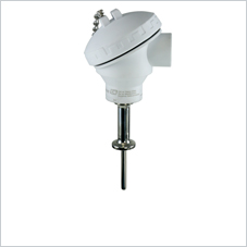 Hygienic, aseptic, modular resistance thermometer, Pt100 or 4 to 20 mA