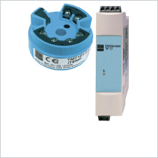 Temperature transmitters for RTD and thermocouples
