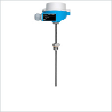 Temperature sensor with screw thread for demanding applications
