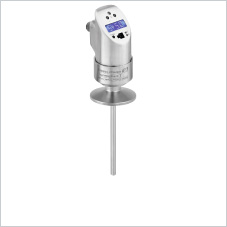 Temperature switch for hygienic applications